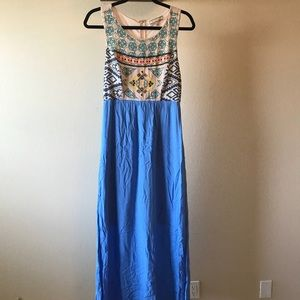Flying Tomato maxi dress size L